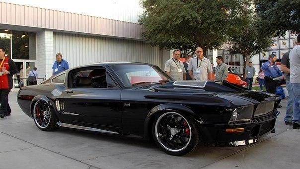 900-сильный Ford Mustang Obsidian от CoupeR Design