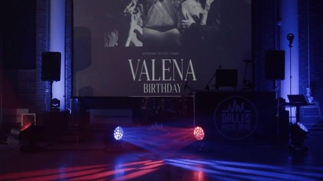 VALENA BIRTHDAY