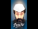 Ranbir would spend 8 hours putting on his Sanju face during the shoot but you can do it in under a minute with the Sanju Face F