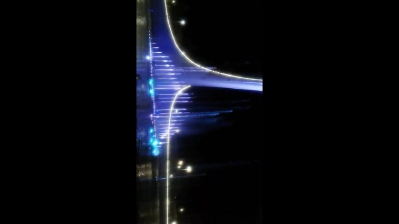 поющие фонтаны в Олимпийском парке г.Сочи