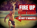 12 Minute Kettlebell Core Workout [Get Ripped Powerful!] | Chandler Marchman