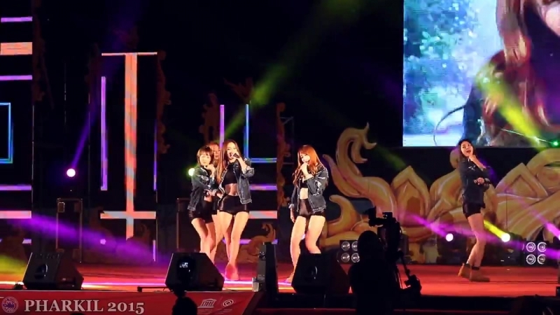 [FANCAM] EXID - Ah Yeah 151004 Baekje Cultural Festival