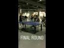 Гарри играет в пинг понг за кулисами шоу в Нью Йорке 22 06