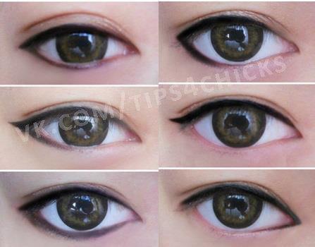 Азиатский макияж глаз