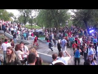 Фестиваль уличного театра «Пластилиновый дождь» прошедший в Самаре с 22 по 26 августа