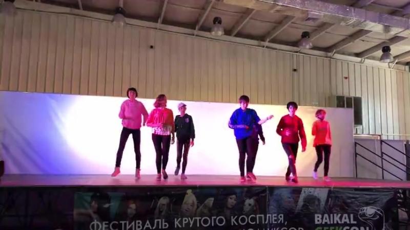 FAKE LOVE (dance cover) Seven Black-White Units