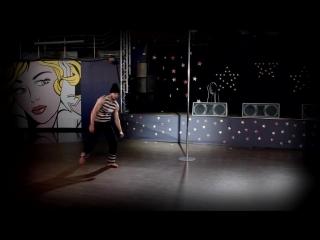 Кулманаков Денис 2 место категория Мужское Соло Отборочные соревнования по шестовой акробатике по Новосибирской Области 21 02