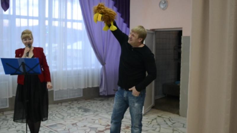 Театр-экспромт Ворона и лисица в современной интерпретации