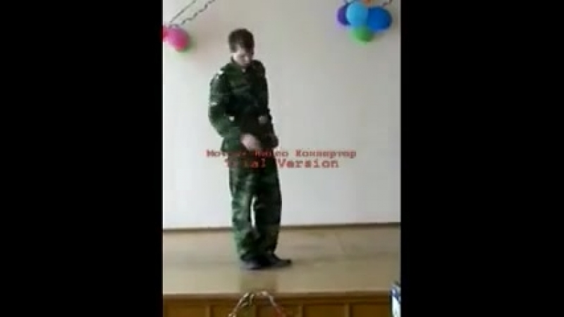 Отрывок из поэмы Василий Тёркин Читает вице-сержант Лебедев Петр.