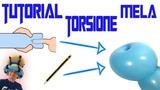 Palloncini modellabili Tutorial 60 - torsione a mela (Tecnica) - Balloon Twisting - Globoflexia