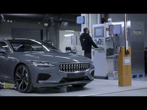 Volvo Polestar 1 Karbon fiber destekli araç tanıtımı prototip üretimi ve test sürüşü
