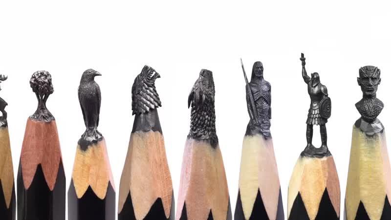 Миниатюры ручной работы в стиле Игры престолов