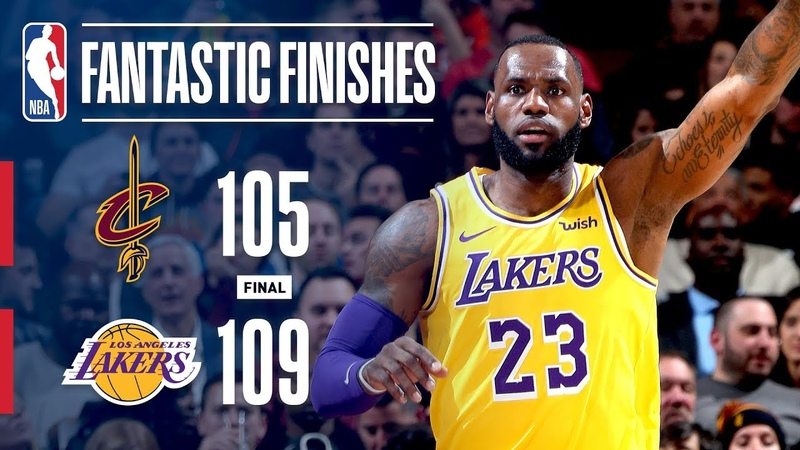 The Lakers Come Back in Cleveland for an Exciting Finish! | November 21, 2018 NBANews NBA Lakers Cavaliers