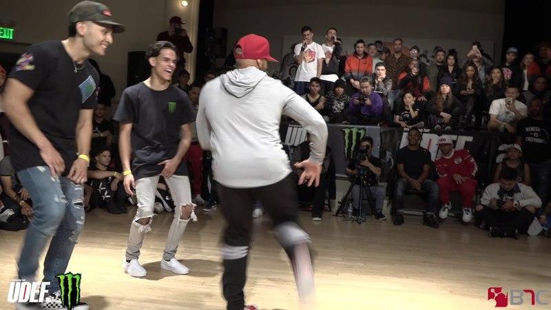 Monster B-Boys Vs Monster Force | Semis | Massive Monkees Day 2018 | Pro Breaking Tour | BNC
