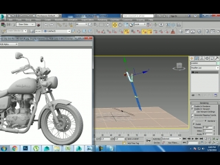 Tutorial on Modeling and texturing a bike in 3dsmax ( Part 1)