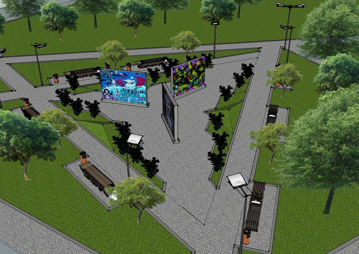 В Сумах хотят создать уличную галерею в формате «open air»