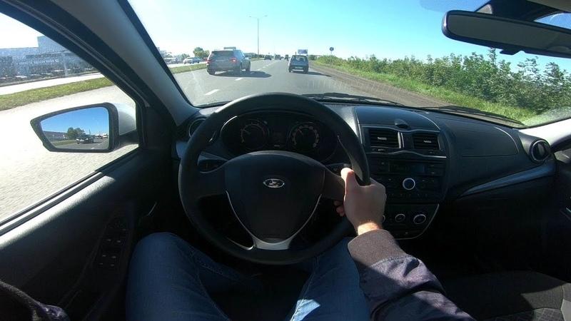 2018 ЛАДА Гранта POV Test Drive