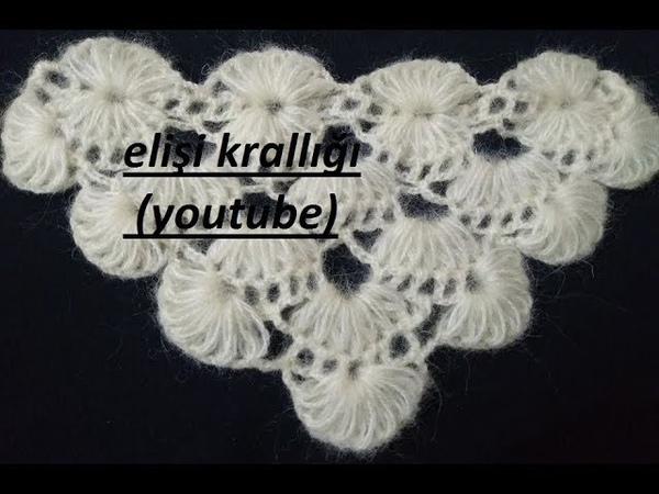 YELPAZE MODELİ ŞAL YAPILIŞI/FAN MODEL WRAP CONSTRUCTION