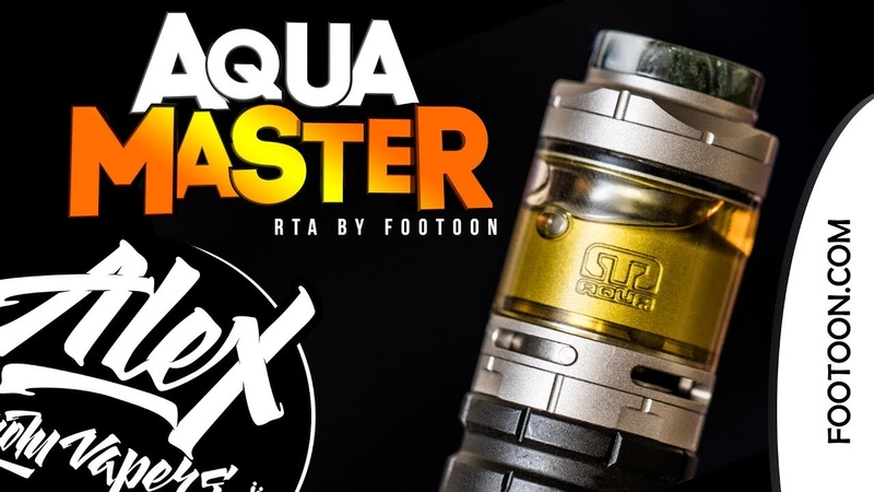 Инновации подвезли l AQUA Master RTA l by Footoon l Alex VapersMD review 🚭🔞