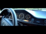 Тест Драйв Mercedes W124 E500 ВОЛК 1994 326 л.с.! (+ Заносы!)