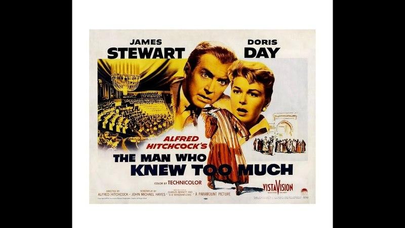 O Homem Que Sabia Demais (1956), de Alfred Hitchcock, com James Stewart e Doris Day, legendado