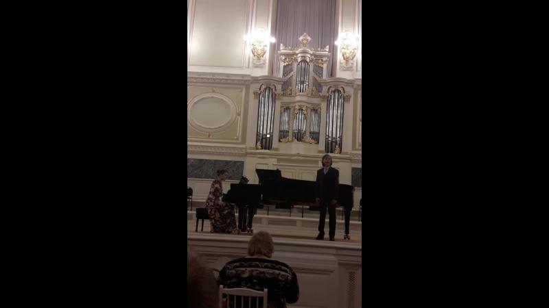 Гала концерт в Капелле Городской конкурс Юный вокалист Школы И Богачевой