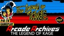 🔘 ArcadeArchives THE LEGEND OF KAGE | The heroic ninja is back! 🕹