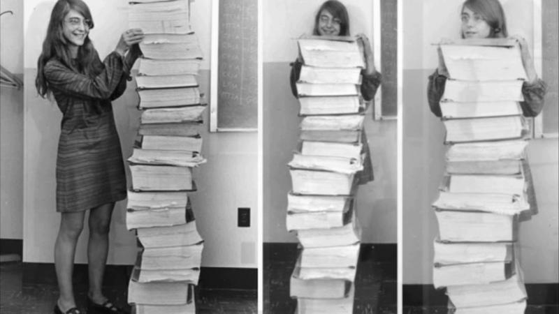 Rapidinhas Margareth Hamilton, a salvadora da Apollo 11, ganha medalha [CP 41]
