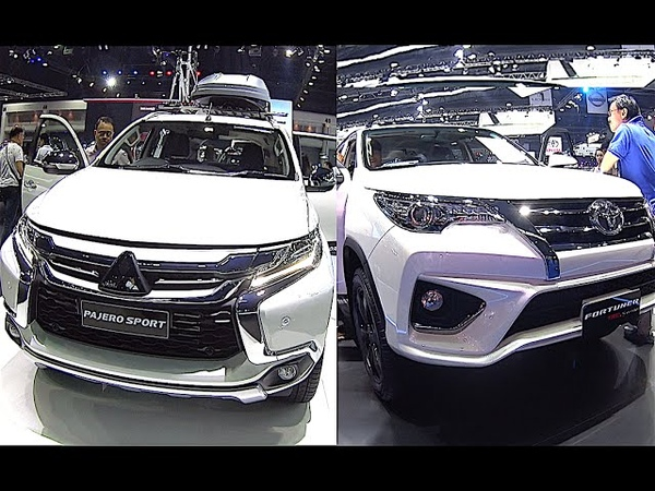 Toyota Fortuner or Mitsubishi Pajero Sport 2016, 2017 model - What to choose?