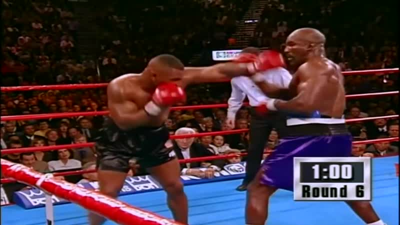 'Iron' Mike Tyson vs Evander 'The Real Deal' Holyfield 1996 highlights mp4