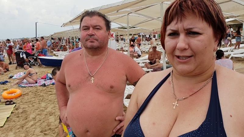 Переезд в Анапу на ПМЖ из Казахстана. центральный пляж ДЖЕМЕТЕ 2