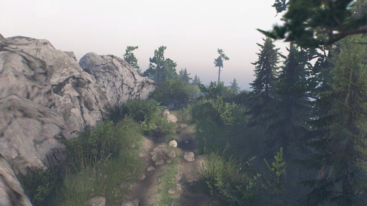 """Карта """"Crawl"""" для 25.12.15 для Spintires - Скриншот 3"""