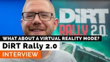 DiRT Rally 2.0 - Interview with Ross Gowing (EN)
