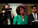 Maxine Waters Faces 5 Years In Prison For Inciting Violent Riots