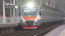 Электропоезд ЭП2Д-0044 ЦППК платформа Алабино 23.11.2018