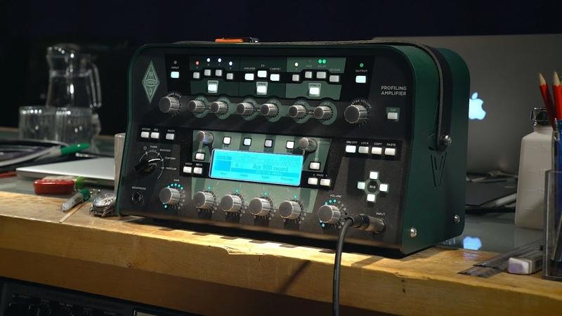 Ace's masterclasses Kemper vs real guitar amp
