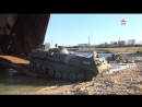 Морпехи ЧФ ведут погрузку бронетехники на БДК кадры учений АрмияРоссии