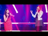 Carla Quartas vs. Celine Bhrer - Soulmate - Battle - The Voice of Switzerland 2014