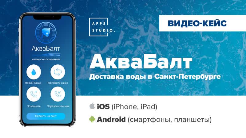 Бизнес модель приложения - АкваБалт | Компания AppsStudio
