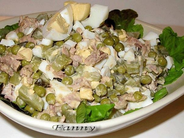 Салат с перепелиными яйцами рецепт с фото