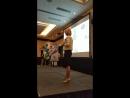Выступление вице-президента компании NHT Global Майи Спиндлер о компании