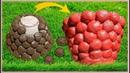 Аппетитный вазон/кашпо из бетона цемента своими руками Идеи для сада и дачи