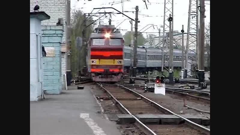 ЧС4Т-242, ст. Киров ГЖД, 2007 г.