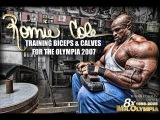 Ronnie Coleman - The King Of Bodybuilding - Biceps & Calves Training For The Olympia 2007