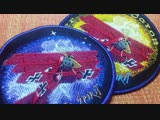 Embroidered Patch The Red Baron (Triplane)