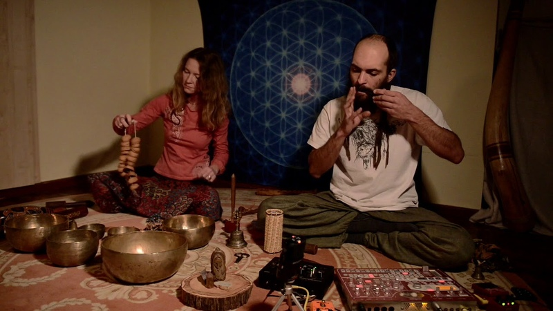 Dva Dereva - Hundred Syllable Vajrasattva Mantra (Live session at Stalkers Room)