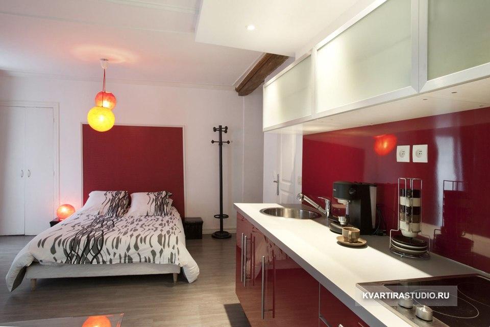 Квартира-студия 28 м у подножия Монмартра в Париже / Франция - http://kvartirastudio.