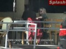 24 Aug 2008 - Mary-Kate Olsen kissing Nate Lowman while dining