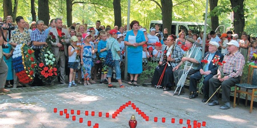 Неманские вести: Отметили День памяти и скорби