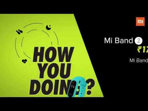 Mi Band 2 India video – How are you doing ? HRX Edition India